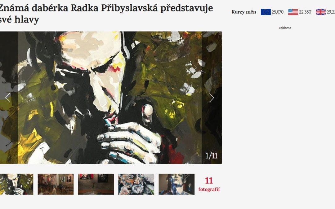 Radka Přibyslavská, článek E15